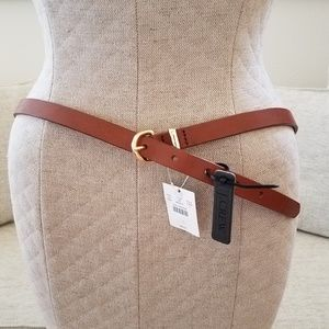 J. Crew leather belt sz Large